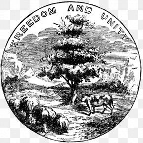 Jehovah - American Civil War Seal Of Washington Illinois 1st United States Sharpshooters PNG