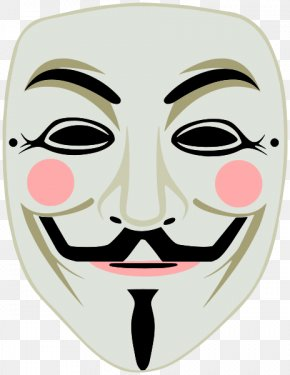 Mask - Gunpowder Plot Guy Fawkes Mask Guy Fawkes Night Million Mask March PNG