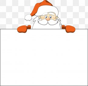 Red Cartoon Santa Claus Decorative Patterns - Santa Claus Christmas Stock Photography Clip Art PNG