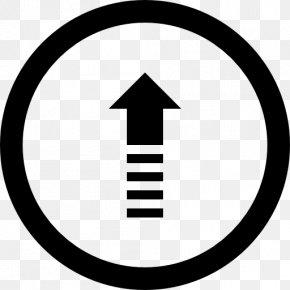 Line Arrow - Registered Trademark Symbol Information PNG