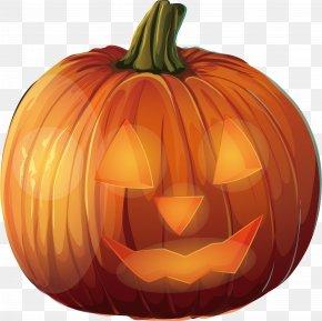 Halloween Pumpkin Design - Calabaza Halloween Pumpkin Jack-o-lantern PNG