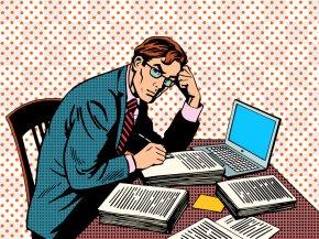 Office Man - Journalist Journalism Clip Art PNG