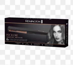 Ladies Hair Style - Hair Iron Cosmetics Beauty Parlour Remington Arms PNG