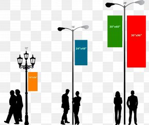 Street - Vinyl Banners Advertising Street Light Web Banner PNG