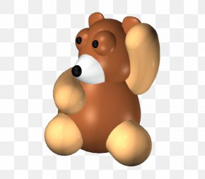 Brown Bear - Brown Bear 3D Modeling 3D Computer Graphics PNG
