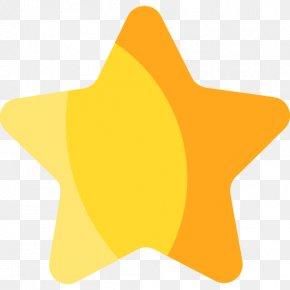Rate - Star Flat Design PNG