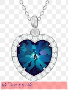 Titanic - Heart Of The Ocean Jewellery Necklace Clip Art PNG