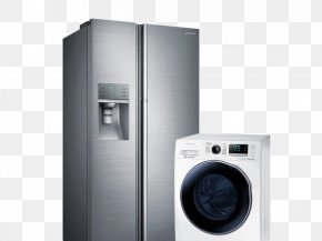 Home Appliances - Refrigerator Samsung Food Auto-defrost Home Appliance PNG