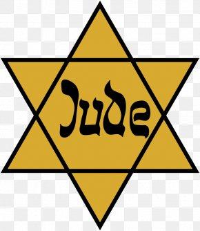 Judaism - The Holocaust Star Of David Yellow Badge Jewish People Judaism PNG
