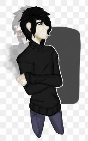 Headache - Black Hair Human Hair Color Long Hair Male PNG
