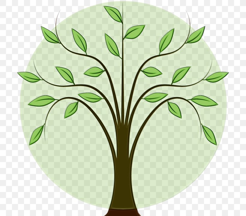 Leaf Green Tree Clip Art Plant, PNG, 706x720px, Watercolor, Flower, Grass, Green, Leaf Download Free