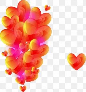 Pretty Hearts - Heart Valentine's Day Romance PNG