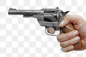 Handgun - Revolver Trigger Firearm Handgun Pistol PNG