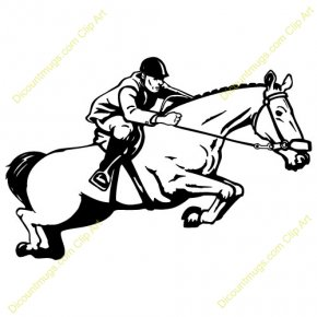 Trail Ride Cliparts - Mustang Equestrianism English Riding Trail Riding Clip Art PNG