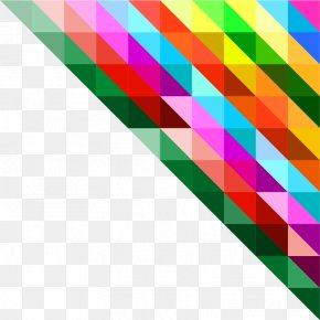 Colorful Vector Polygon - Polygon Triangle Geometry PNG