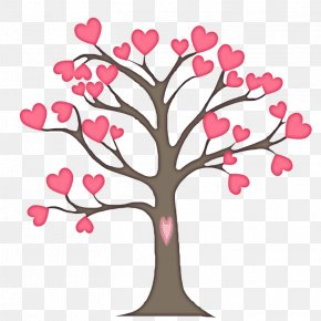 Hand-painted Heart Tree - Tree Business Marketing Clip Art PNG