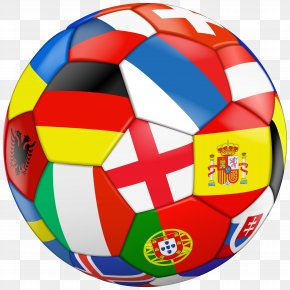 Football With Flags Transparent Clip Art Image - Football Flag Stock Photography Clip Art PNG