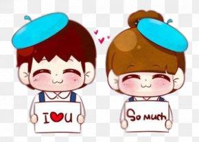 Cartoon Couple - Samsung Galaxy S5 Samsung Galaxy Note 4 Hello Kitty Wallpaper PNG