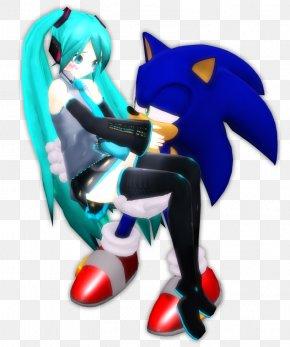 Sonic The Hedgehog - Sonic The Hedgehog Hatsune Miku Digital Art Crush 40 PNG