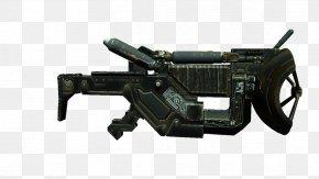 Machine Gun - Machine Gun Firearm Weapon Gun Barrel PNG