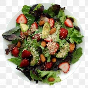 Salad - Spinach Salad Fruit Salad Avocado Salad Strawberry PNG