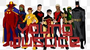 Young Justice - Superhero Television Show Character PNG