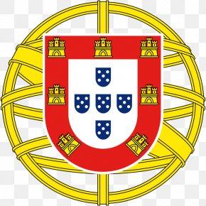Flag - Flag Of Portugal Portuguese Empire Coat Of Arms Of Portugal National Symbols Of Portugal PNG