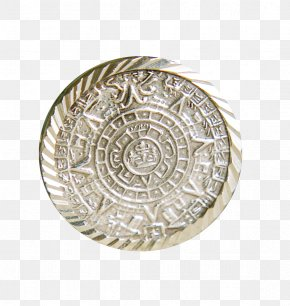 Metal Jewelry Circular Pattern - Sheet Metal Motif PNG