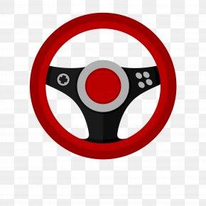 Cartoon Vector Steering Wheel - Car Racing Wheel Drawing Steering Wheel PNG