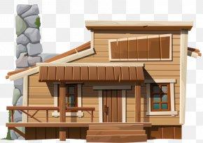 A Log Cabin - House Log Cabin Royalty-free Illustration PNG