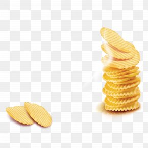 Potato Chips - Potato Chip French Fries PNG