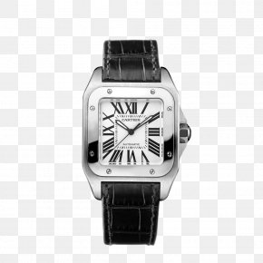 Luminescent - Cartier Automatic Watch Diamond Source NYC Strap PNG