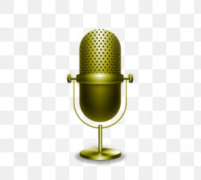 Retro Microphone - Microphone Euclidean Vector Icon PNG