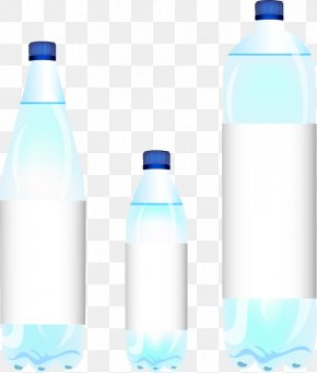 Vector Water Bottles - Water Bottle Euclidean Vector Mineral Water PNG