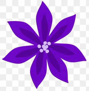 Purple Cliparts Free - Flower Purple Lilium Clip Art PNG