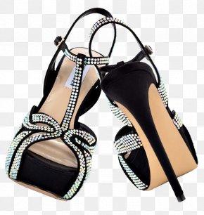Satin Sandal File - Sandal High-heeled Footwear Stiletto Heel PNG