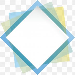 Geometry Box - Blue Geometric Shape Geometry Rectangle PNG