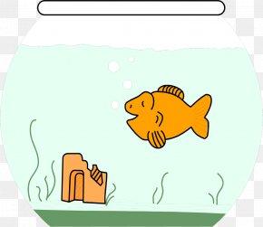 Goldfish - Cartoon Black Telescope Drawing Clip Art PNG
