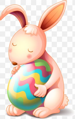 American Easter Egg Design Vector Material - Easter Bunny Easter Egg Rabbit PNG