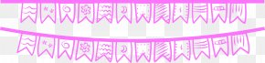 Pink Painted Flag - Los Angeles Pink Drawing Cartoon PNG