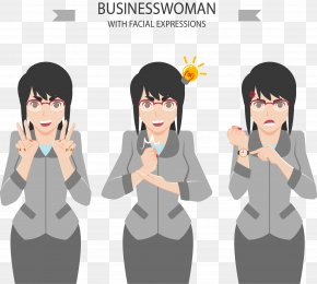 Different Circumstances Of White-collar Women - Businessperson White-collar Worker PNG