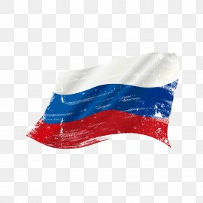 Drawing The Russian Flag Vector Material - Flag Of Russia Clip Art PNG