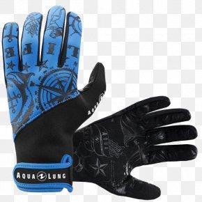 Aqua - Underwater Diving Scuba Diving Glove Scuba Set Wetsuit PNG