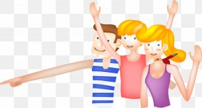 Hand Drawn Cartoon Child Download - Cartoon Clip Art PNG