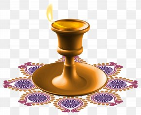 Happy Diwali Candle Clipart - Diwali Candle Clip Art PNG