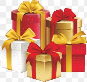 Gift - Gift Ribbon Decorative Box Birthday PNG