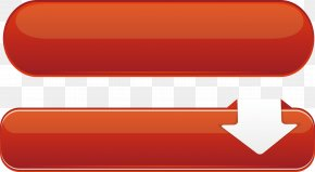 Red Stereo Vector Button Material - Red Euclidean Vector Vecteur Button PNG