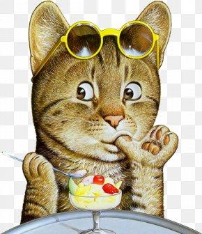 Kitten - Kitten Cat Art Painting Illustration PNG