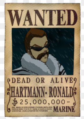 One Piece - Usopp Nico Robin Monkey D. Luffy One Piece Wanted Poster PNG