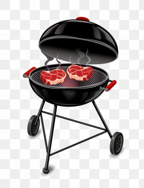 Creative Black Barbecue Grill - Barbecue Poster Food PNG